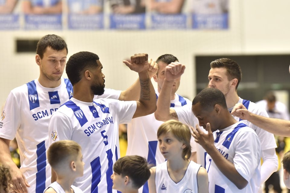 "Felicitări echipei de baschet SCM ""U"" Craiova!"