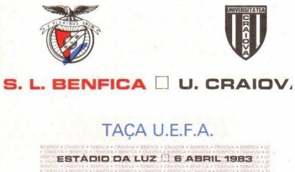 36 de ani de la semifinala de Cupă Europeană cu Benfica