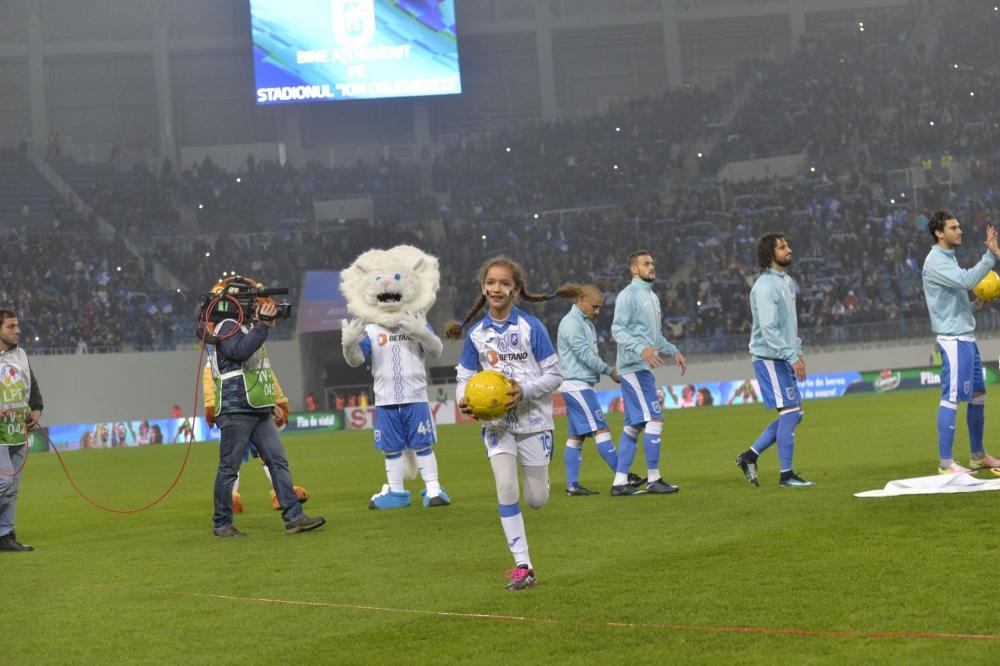 #PlayerEscort / Cei mici își pot însoți idolii pe teren la meciul cu FC Viitorul!