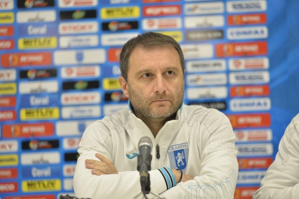 Conferința de presă premergătoare derbiului cu Dinamo