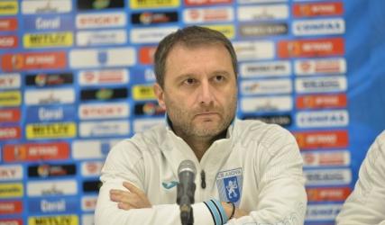 Conferința de presă premergătoare meciului cu Poli Timișoara