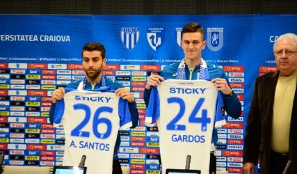 Florin Gardoș și Andre Santos, prezentați oficial