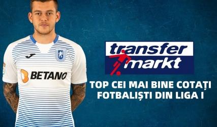 Cicâldău în top 3 cei mai bine cotați fotbaliști din Liga I