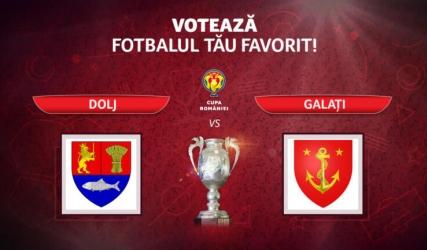 Împreună calificăm Doljul în sferturile Cupei României