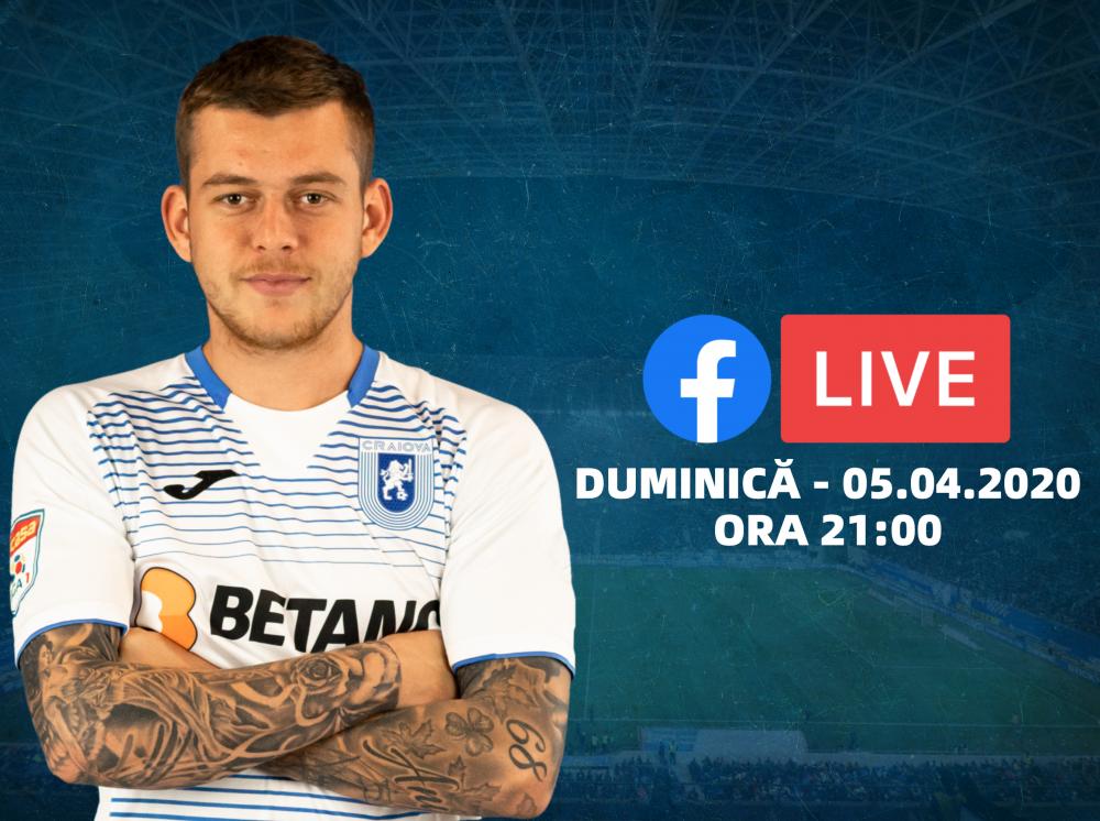 Alex Cicâldău intră în direct pe Facebook alături de suporteri