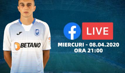 Ștefan Vlădoiu intră în direct pe Facebook alături de suporteri