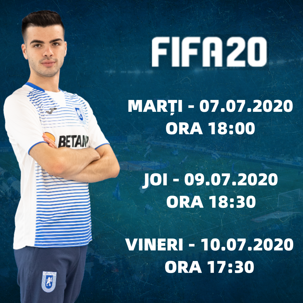 Programul de FIFA 20 din această săptămână