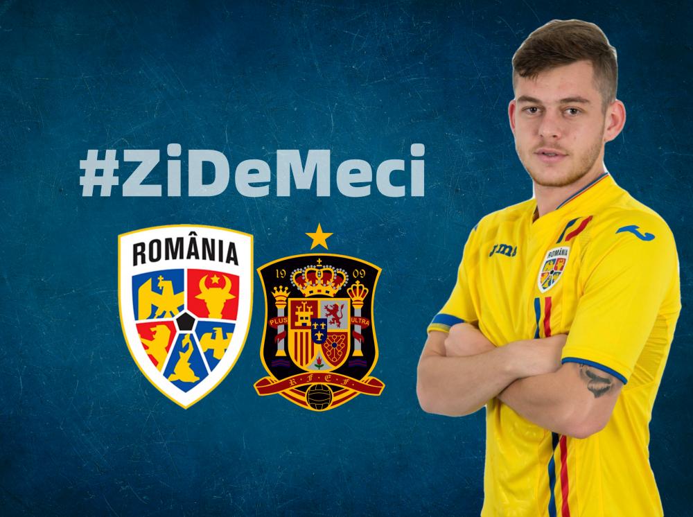 Mult succes Naționalei noastre în duelul cu Spania!