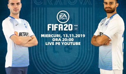 Dan Buzărnescu și Cristi Bărbuț în FIFA 20