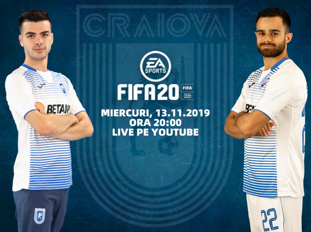 LIVE: Cristi Bărbuț și Dan Buzărnescu la FIFA 20