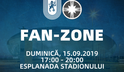 Hai la #FanZone să ne facem încălzirea înainte duelului cu FCSB