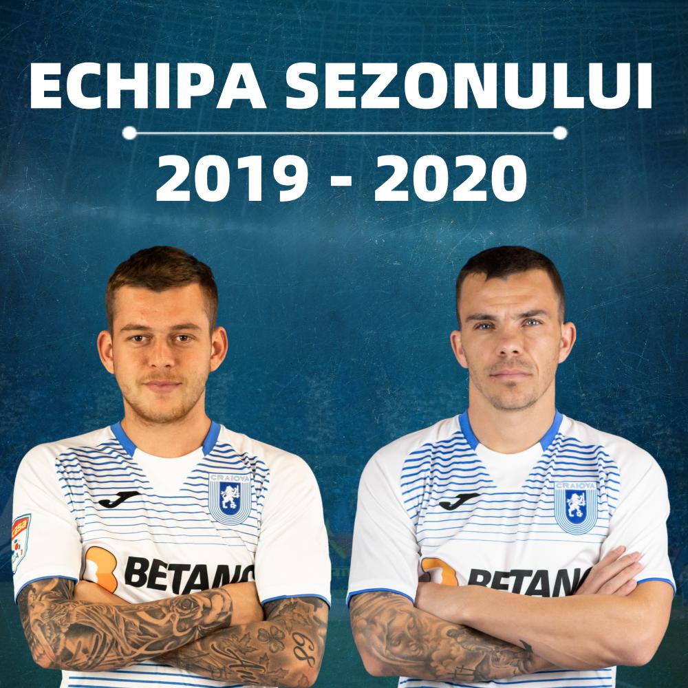 Cicâldău și Nistor în echipa sezonului