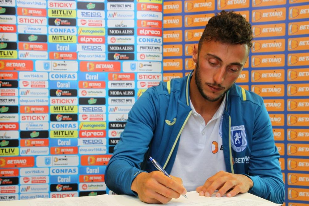Născut în capitala Italiei, va juca în capitala fotbalului românesc: Pigliacelli a semnat cu Știința!
