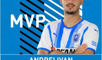 Andrei Ivan - MVP cu Clinceni