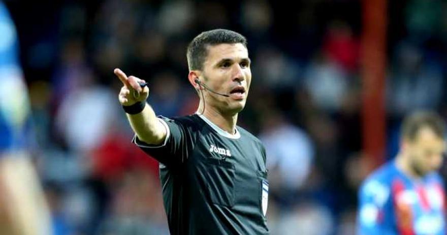 Marcel Bîrsan împarte dreptatea în meciul decisiv pentru Europa