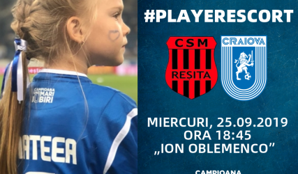 #PlayerEscort la primul pas din noua ediție a Cupei României