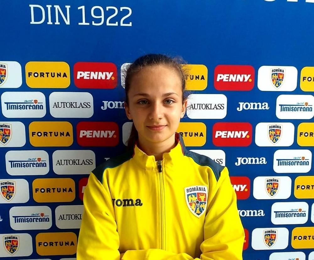 Prima noastră jucătoare de fotbal feminin convocată sub tricolor