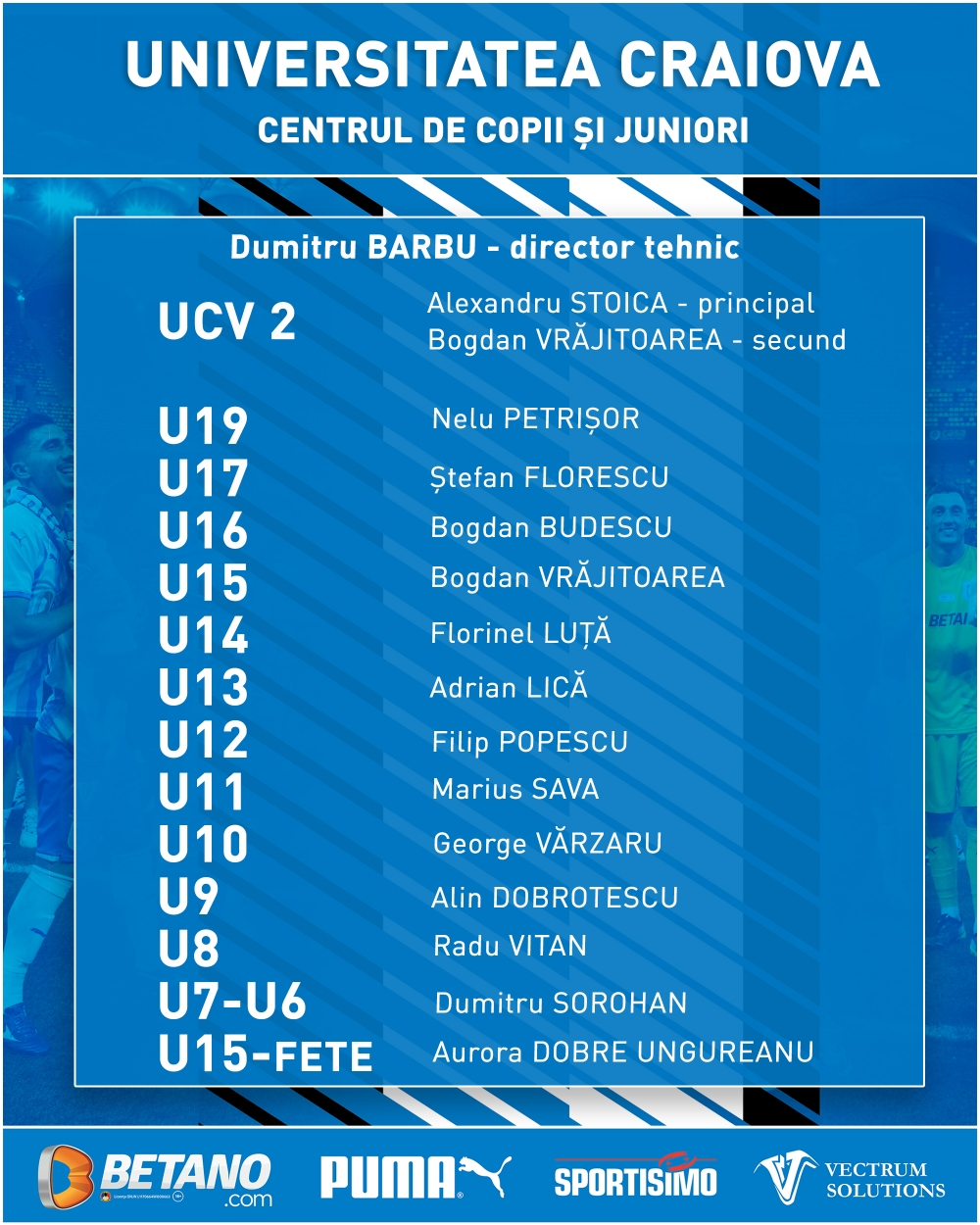 Juniorii Universității Craiova au reluat antrenamentele