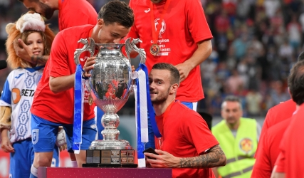 Gustavo și Martic fac parte din echipa ideală a străinilor din Liga I Betano
