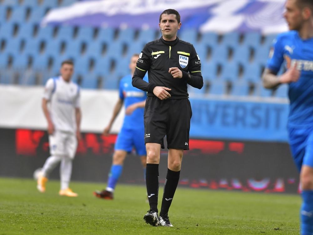 Andrei Chivulete va arbitra meciul cu Clinceni