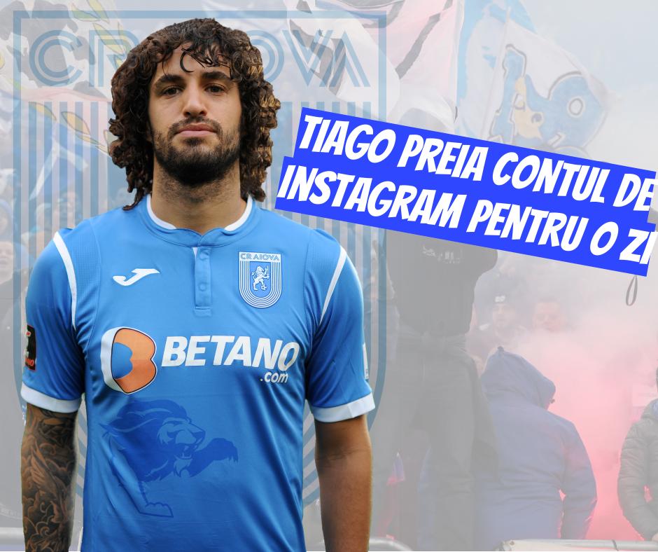 Tiago preia contul de Instagram al Științei