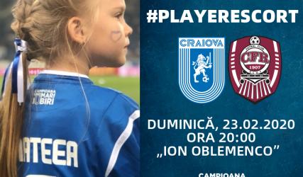 #PlayerEscort la derby-ul cu CFR Cluj