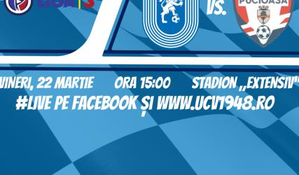 #LIVE: Universitatea Craiova 2 - FC Pucioasa