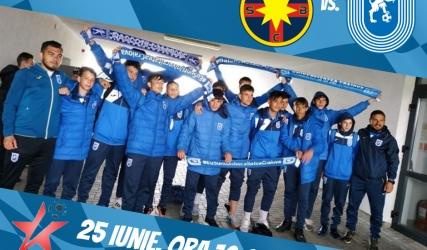 FCSB, ultimul obstacol până în marea finală Under-15