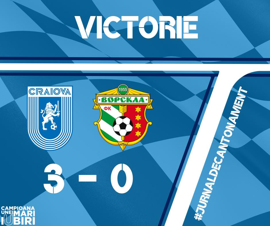 3 goluri cu Vorskla și Știința obține a doua victorie la rând