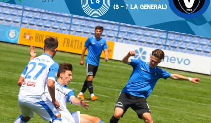 Victorie amară în returul semifinalei Ligii Elitelor U-19