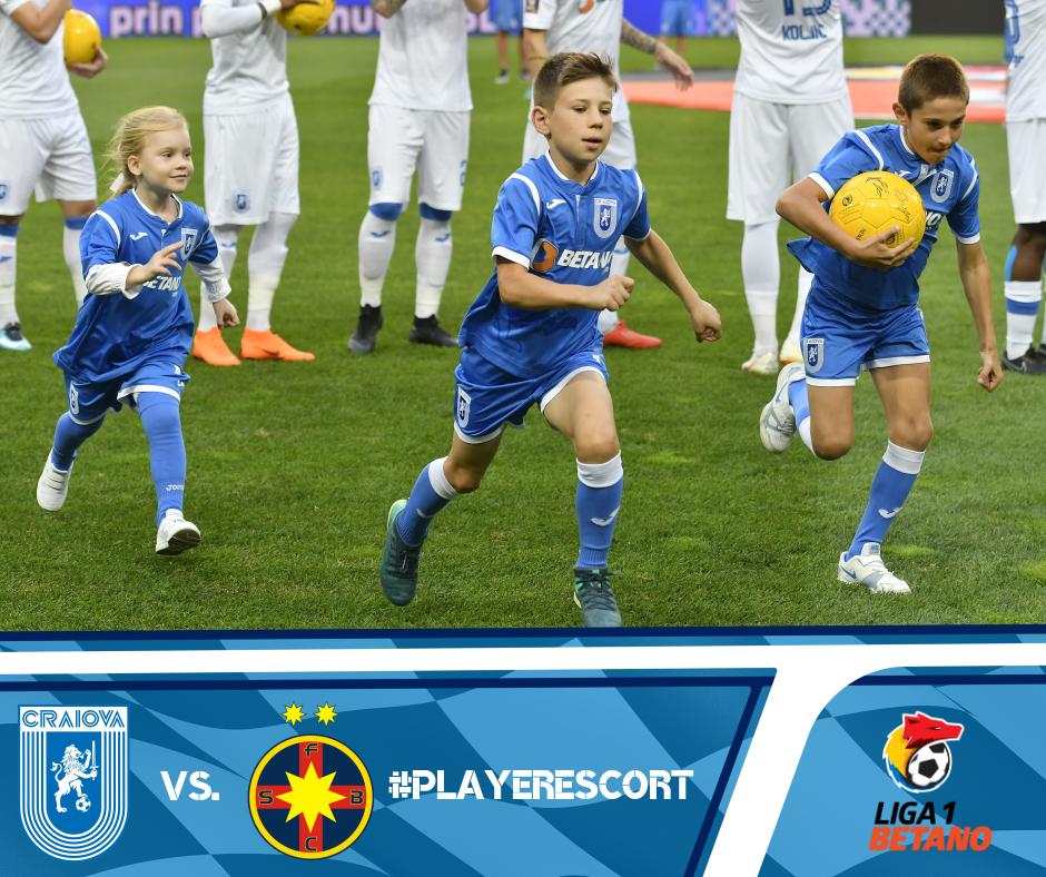 #PlayerEscort la disputa cu FC FCSB