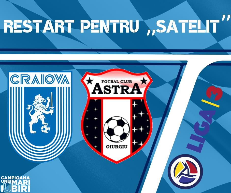 #LIVE: Universitatea Craiova 2 - Astra Giurgiu 2