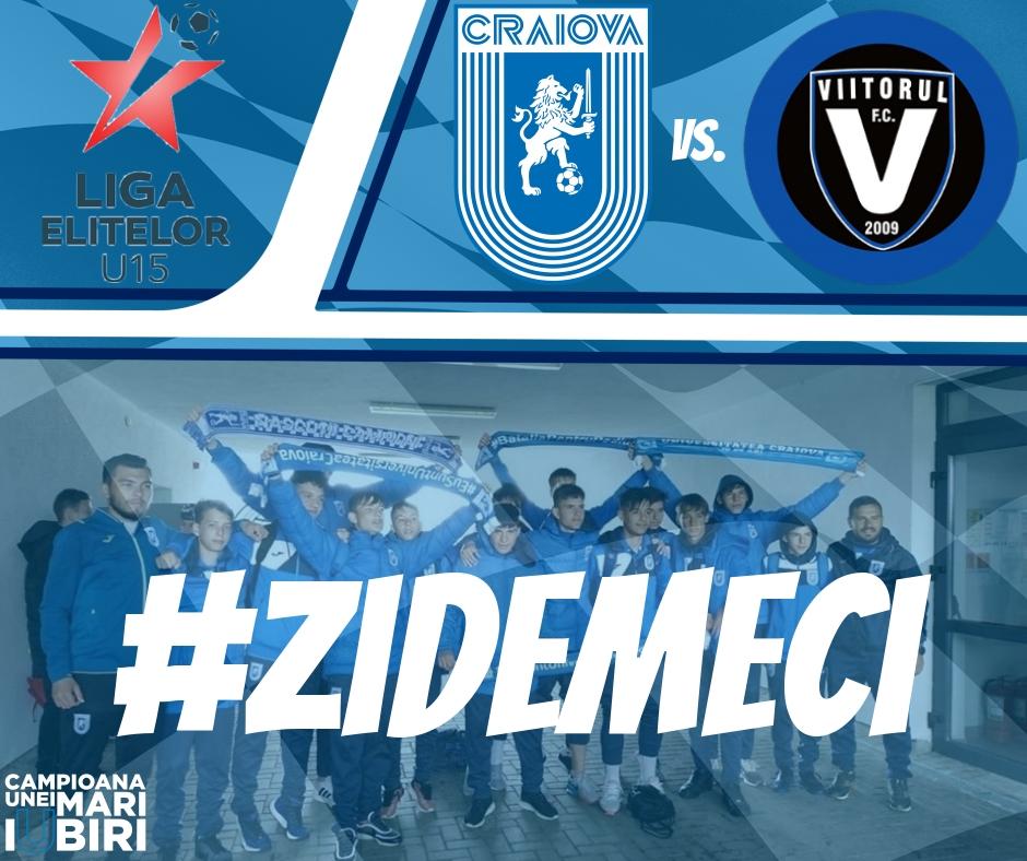 #LIVE: Universitatea Craiova  - FC Viitorul (Finala Under-15)
