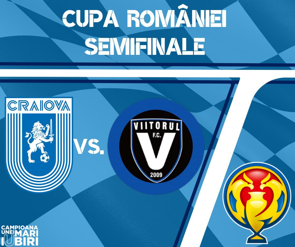 Cu Viitorul în semifinalele Cupei României