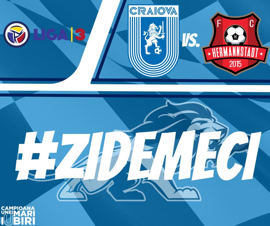 #LIVE: Universitatea Craiova 2 - FC Hermannstadt 2