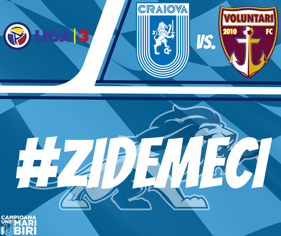 #LIVE: Universitatea Craiova 2 - FC Voluntari 2