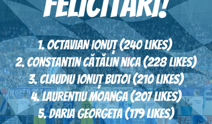 """Câștigătorii concursului """"Provocarea Păianjenului"""""""
