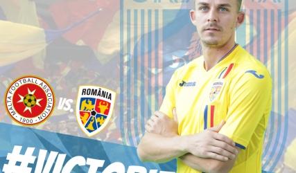 Căpitanul nostru, integralist și două pase de gol sub tricolor