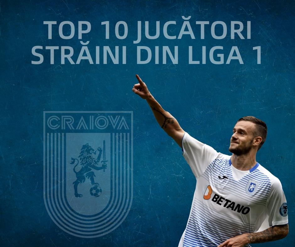 Ivan Martic, în top 10 jucători străini din Liga 1