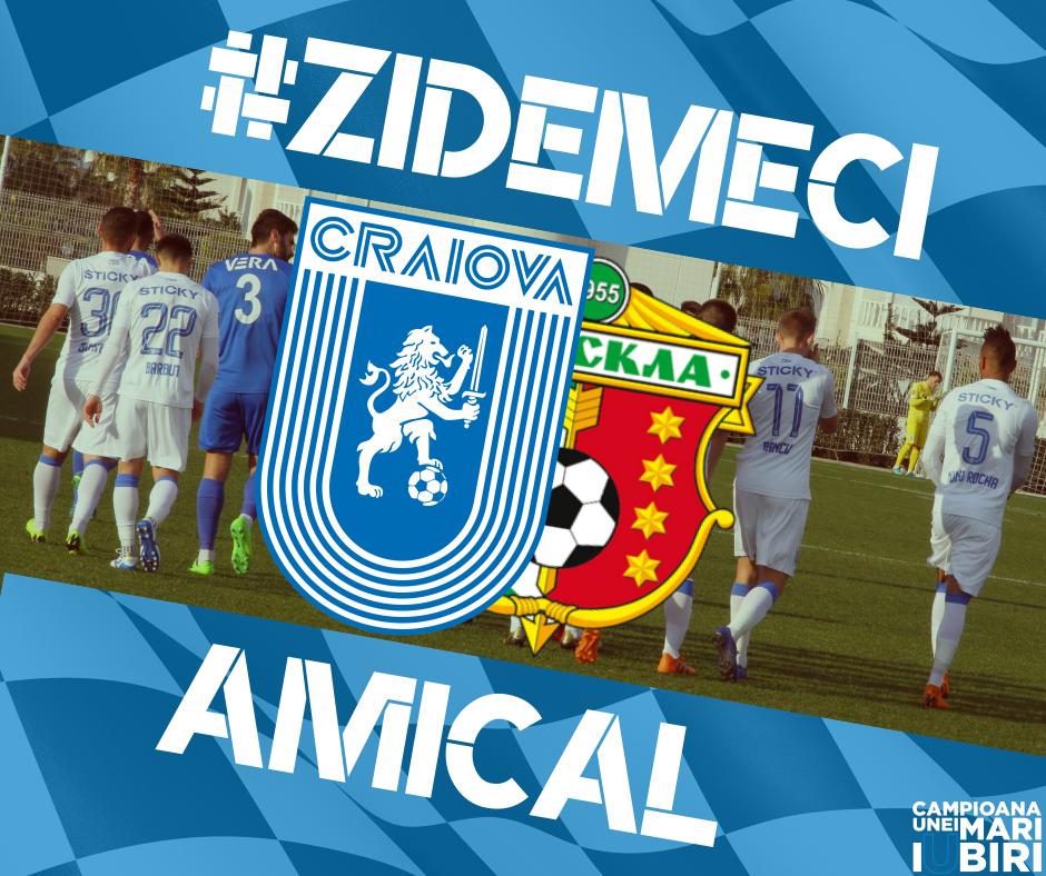 #LIVE: Universitatea Craiova - FC Vorskla Poltava