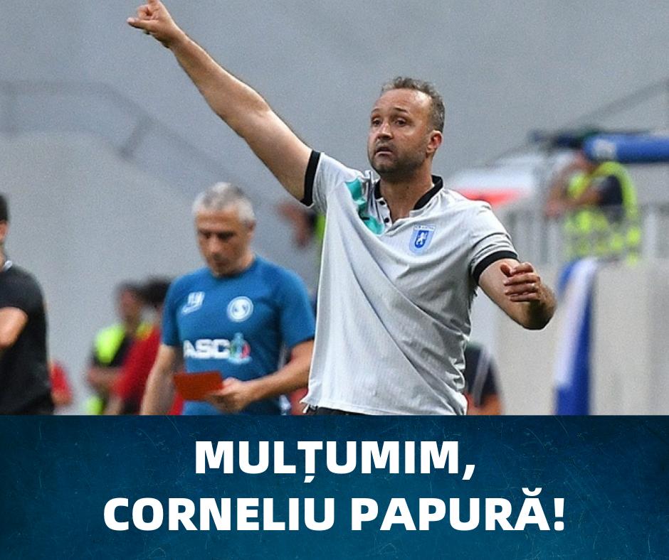 Mulțumim, Corneliu Papură!