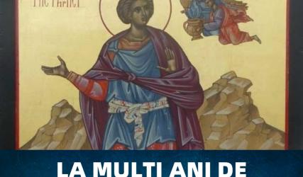 La mulți ani de Sfântul Daniel!