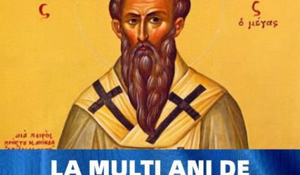La mulți ani de Sfântul Vasile!