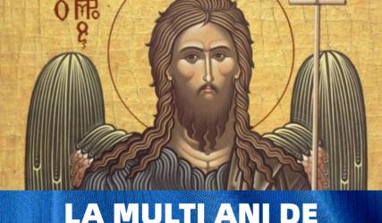 La mulți ani de Sfântul Ion