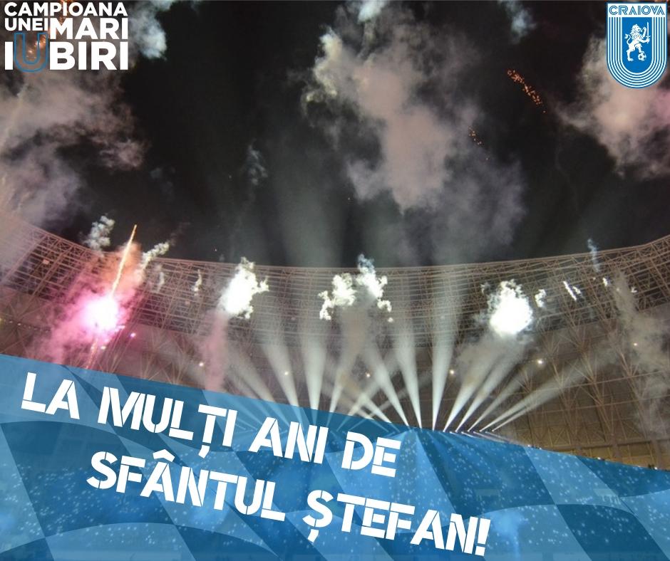 La mulți ani de Sfântul Ștefan!