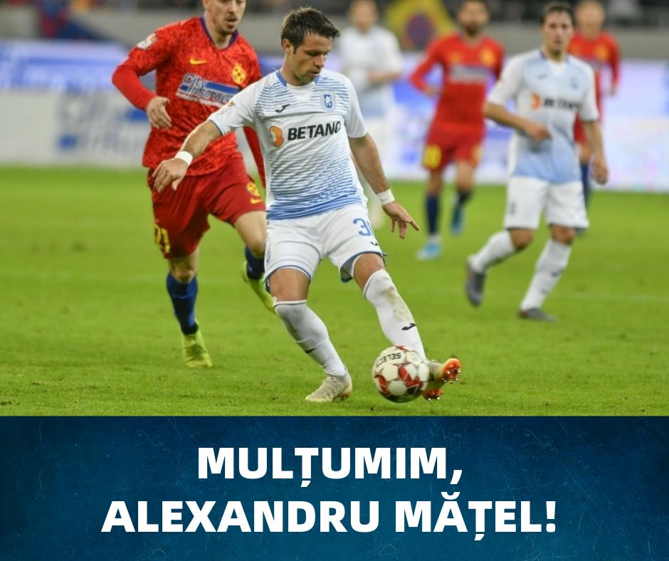 Mulțumim, Alexandru Mățel!