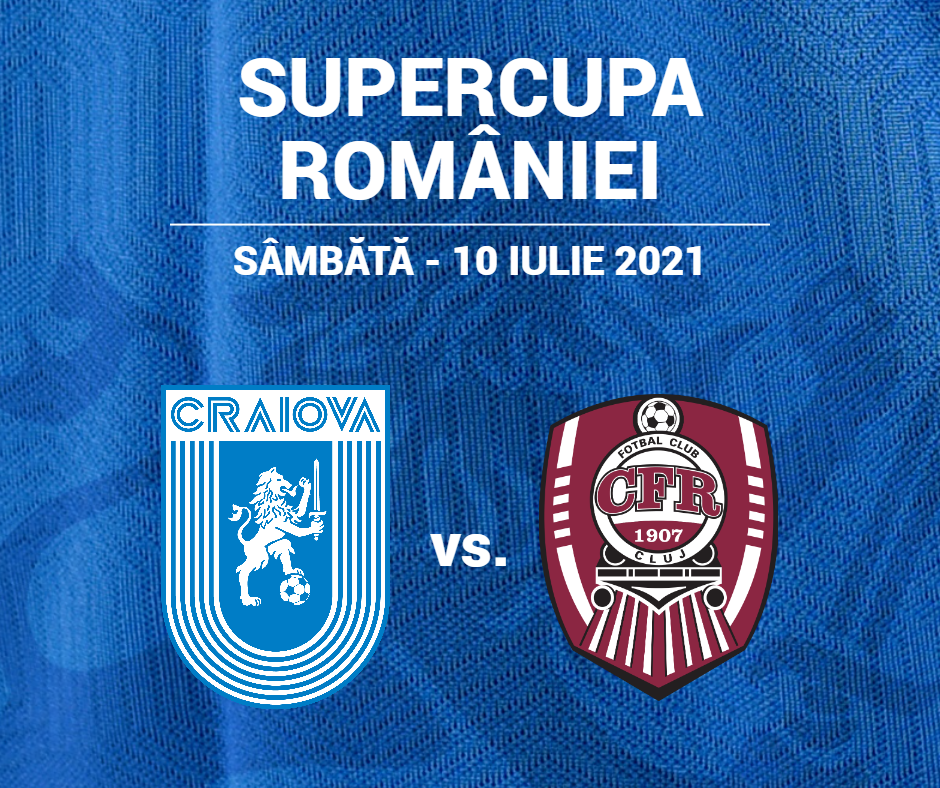 S-a stabilit data SuperCupei României