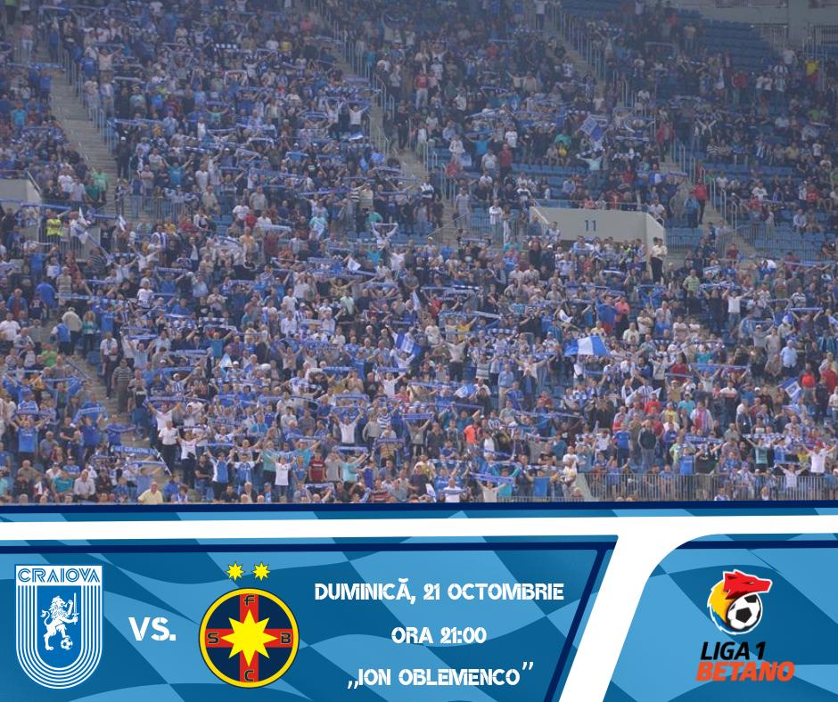#BILETE la meciul cu FC FCSB