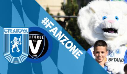 Fă-ți încălzirea în Fan-Zone-ul de pe esplanada stadionului!