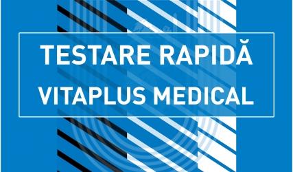 Testare rapidă cu CFR Cluj, powered by Vitaplus Medical